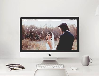 Création site de mariage