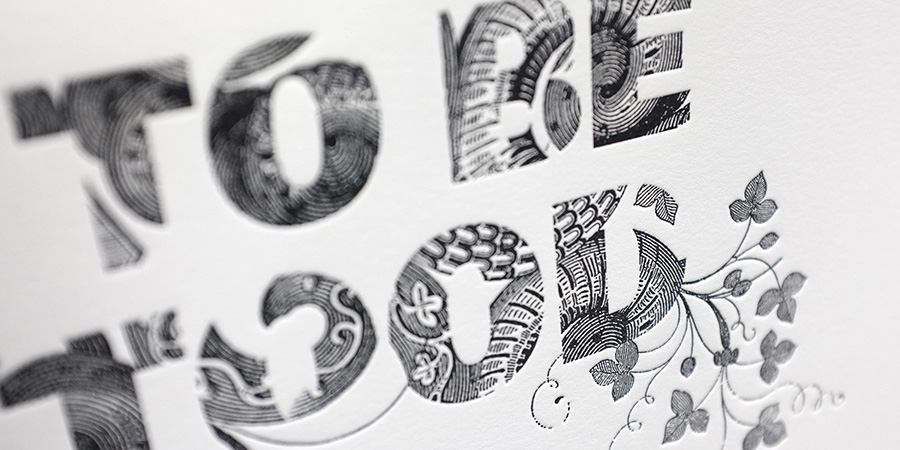 mrcup letterpress posters