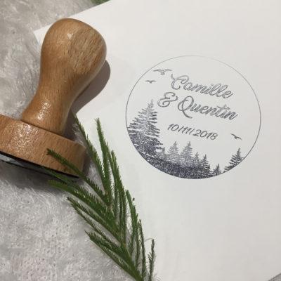 Tampon bois forêt