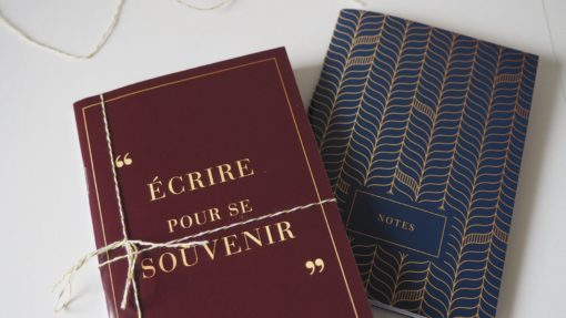 Carnet notebook Promesse graphique